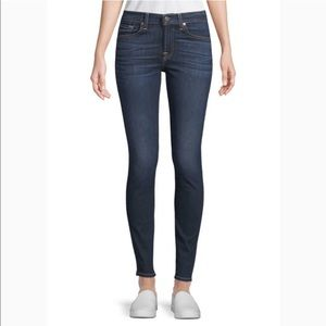 👖 7FAM high-rise ankle skinny jeans